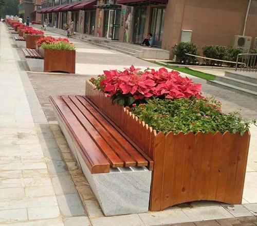 呼和浩特木质花箱