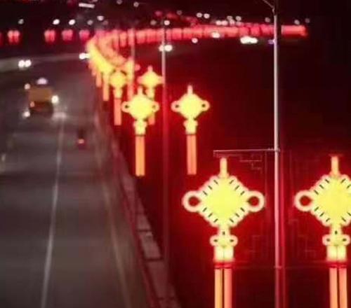 街道节日灯