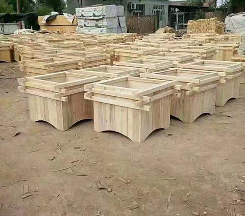 木质艺术花箱