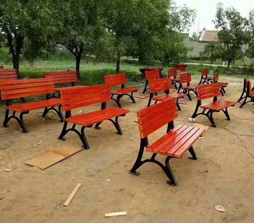 双人公园座椅