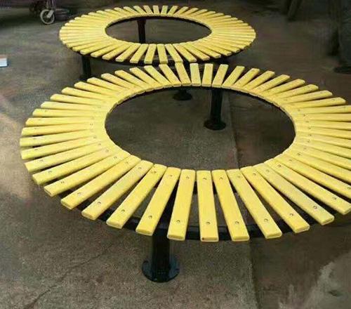 圆形公园座椅