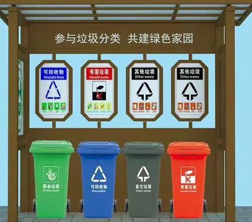 巴彦淖尔公园垃圾箱