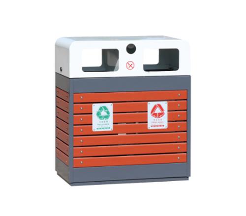木质垃圾箱