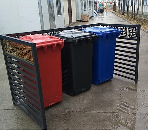 垃圾桶护栏
